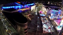 Drone Night Flights Over Los Angeles DJI Phantom DSLR Pros GoPro Hero3 FPV UAV