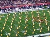 usc trojans vs. oregon ducks pre game festivities fight song