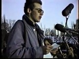 Praha Albertov a Vyšehrad, 17. listopadu 1989