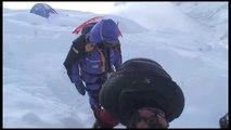 Sir Ranulph Fiennes' climb to Camp 4