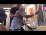 Elder abuse: Old man with walker on pushed off MARTA subway train in Atlanta