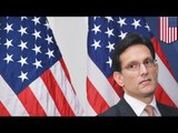 House Majority Leader Eric Cantor loses to Tea Party pol David Brat in Virginia Republican primary