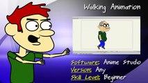 Anime Studio Tutorial: How to Create a Walking Animation