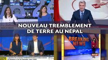 Nouveau tremblement de terre au Népal de magnitude 7,4