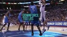 Sport Science: Blake Griffin dunk over Kendrick Perkins [ESPN]
