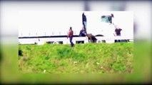 Calais : des CRS délogent des migrants à coups de pied