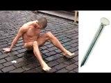 Russian artist Pyotr Pavlensky, pinako ang sariling testicles sa Red Square