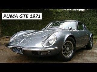 Garagem do Bellote TV: Puma GTE (1971)