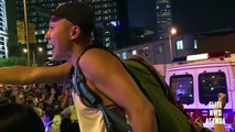 OCCUPY CENTRAL HONG KONG - Tear gas and Clashes at Democracy Protest Against China