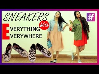 Four Super Ways to Wear Your Sneakers | Fashion-Bombay - By Sonu and Jasleen