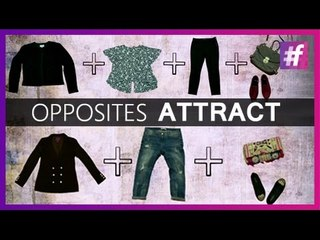 Opposites Attract - Fashion Out of the Box  | Fashion-Bombay - By Sonu and Jasleen