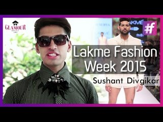 Lakme Fashion Week 2015 | Sushant Covers It All