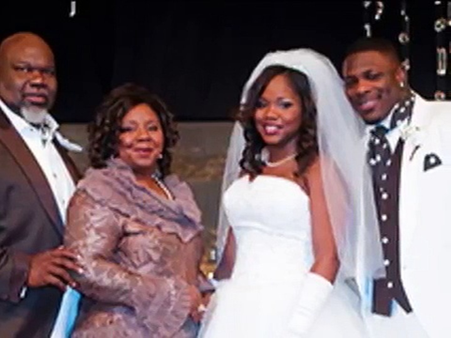 Td Jakes Daughters Wedding.Bishop T D Jakes Daughter Sarah S Fairy Tale Wedding