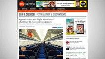 Flight Attendants Fail To Block Device Use On Flights