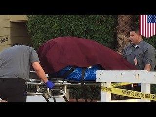 殘廢女兒的屍體在母親公寓的一個行李箱被發現