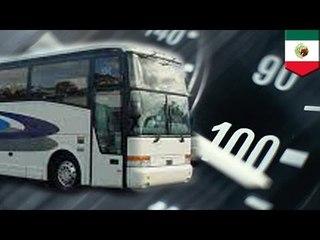 墨西哥巴士車禍 九人死亡三十人受傷