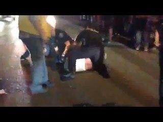 VIDEO: Police brutality sa isang bar sa Canada