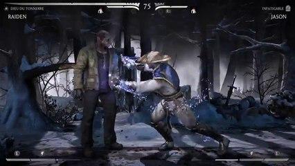 Jason se relève après une Brutality de Mortal Kombat X