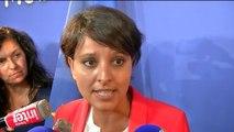 """Najat Vallaud-Belkacem : """"Nicolas Sarkozy n'a aucune leçon à nous donner"""""""