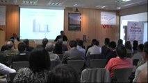 2011. El Dr. Casero exposa el treball del Premi de Recerca 2010