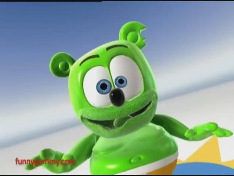 5 Minutes IRISH Gummy Bear Song GAELIC St. Patrick's Day Gummibär Animation, animation movies f