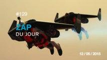 ZAP DU JOUR #129 : Jetman Dubaï / Candide Thovex en slow motion / Explosion en Russie / La naissance de l'Audi RS 3 /