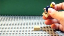 LEGO Tutorial: How to make a Lego minifigure(dude) jump in a stop motion video