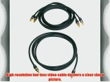 Monster MV2AV25-2M Composite Video with RCA Audio Cable Kit (2 meters)