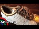 Dahon ng pinya sa Camarines Norte ginagawang sapatos
