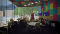 Visite virtuelle de la future bibliothèque Marc-Favreau