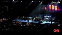 Michael Jackson Funeral casket enters staples center