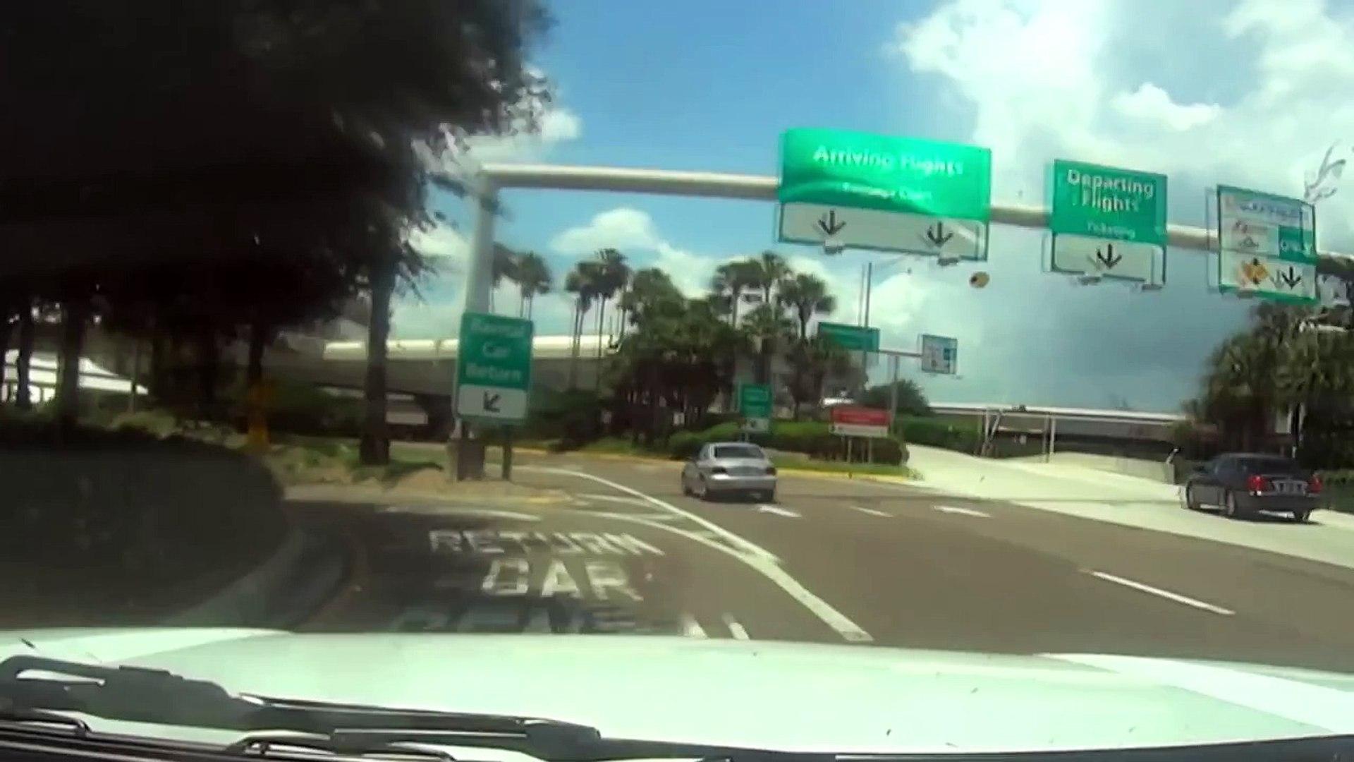 Rental Car Return Alamo   Orlando International Airport MCO ...