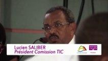 Discours de Lucien SALIBER, vice-président de CAP Nord délégué aux TIC