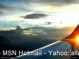 OVNI SOBRE MEXICO 30 AGOSTO 2010   UFO Over Mexico Flight 203 Aeromexico grabado por Miguel Márquez