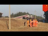 China train accident: 15 injured after passenger train derails in northeast China