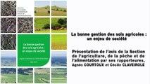 La bonne gestion des sols agricoles : un enjeu de société - cese
