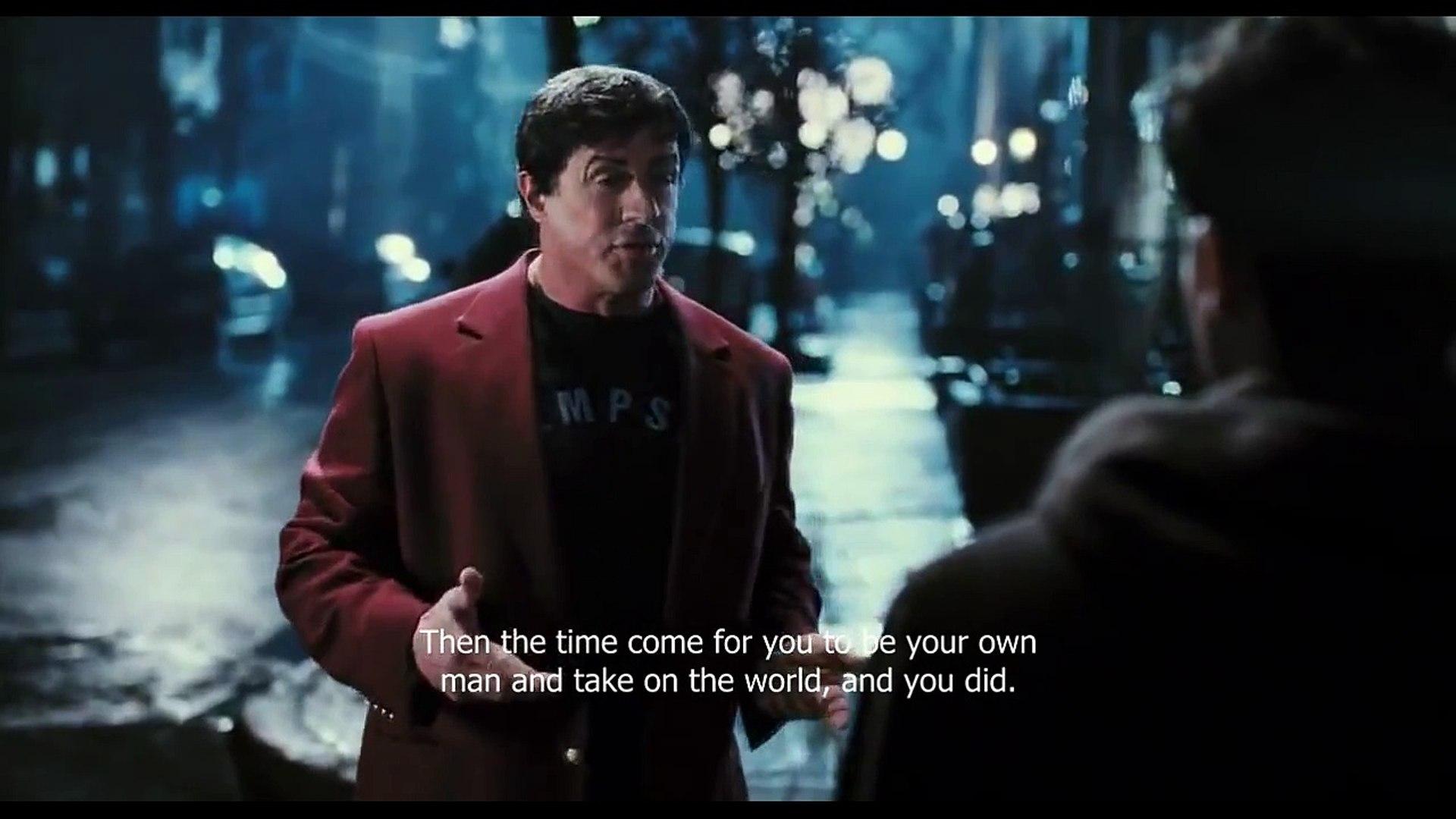 Rocky Balboa S Inspirational Speech To His Son Hd