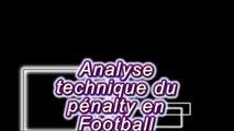 """Le """"PENALTY"""" au Football, analyse Technique/ Comment deviner la Zone de Frappe pour les gardiens"""