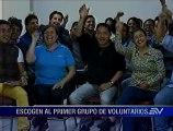 Ya están los primeros voluntarios que ayudarán en la visita del papa Francisco a Ecuador