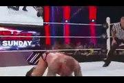 WWE RAW 11-5-2015 Randy Orton vs Seth Rollins Full Match (Randy Help Dean Ambrose & Roman Reigns) 11 May 2015
