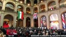 El presidente Peña Nieto recibe en Palacio Nacional al Príncipe Carlos / Nacional