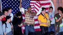 Obamontage - Inauguration '09 in DC, Barack Obama