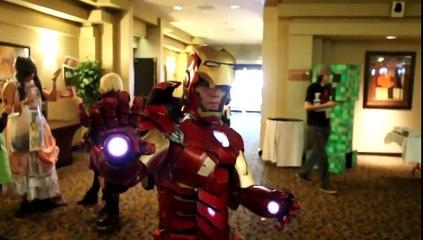 Olağanüstü gerçekçi Iron Man kostümü