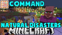 Minecraft Natural Disasters Command & let's talk about Real Life Disasters, Recent Nepal Earthquake