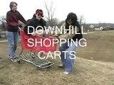 Downhill Shopping Carts