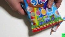 Rainbow Soda Pop Candy How to Make Japanese Candy DIY Kits