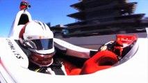 Crash terrible en Indy Car : le pilote Helio Castroneves sort indemne
