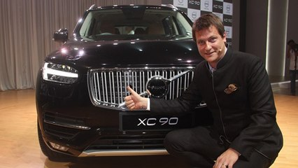 New Volvo XC90 Launched In India