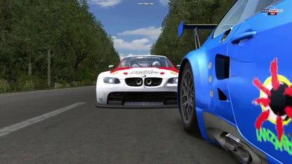 rFactor SP BMW M3 GT2 Circuito de Rostock