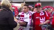 Insultée par des supporters de football, cette journaliste les confronte face à la caméra